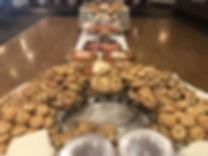 Bagel display for Rabbi Oct 6.JPG