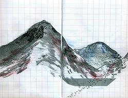 Illustration du poème de Alain Dantinne - Pictogrammes