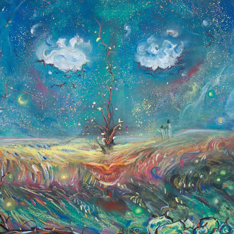 Soft Pastel Summer Nightscape Painting with Beray Uzunbay