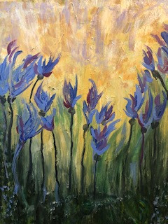 Iris Light Blooming