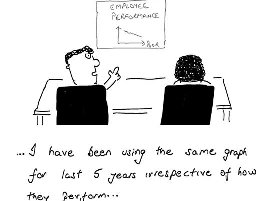Why performance management doesn't manage to perform.