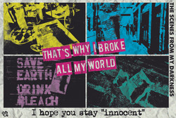 【I hope you stay innocent】