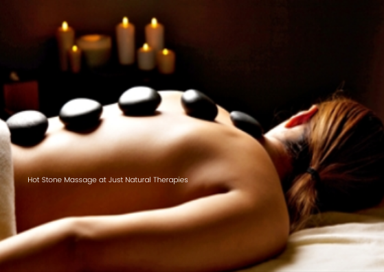 Hot Stone Massage at Just Natural Therap