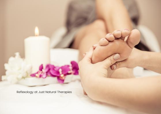 Reflexology at Just Natural Therapies.pn