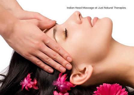 Indian Massage at Just Natural Therapies