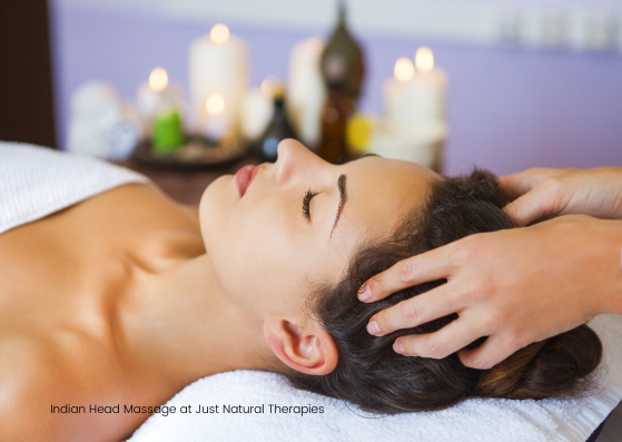 Indian Head Massage 2 at Just Natural Th