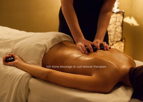 Hot Stone Massage 2 at Just Natural Ther