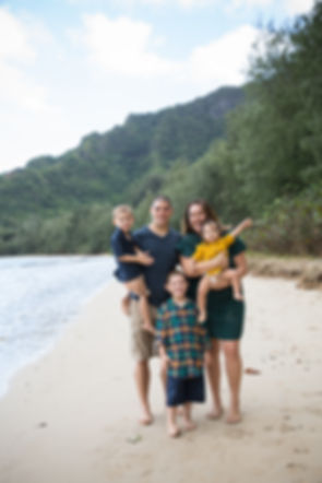 Family Kahana Silly On Beach November 2017 .JPG