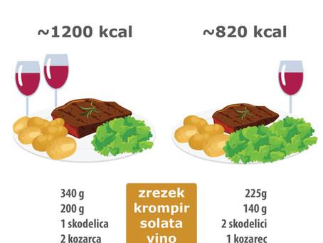 Tako enak, a tako različen obrok