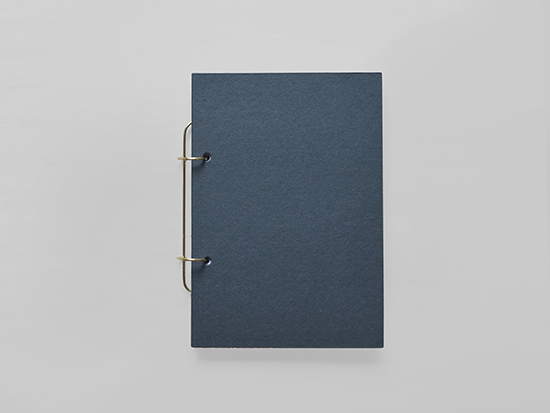 裏紙を使えるノート / 真鍮・紙 / 未発売