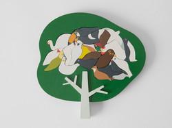 鳥パズル / 木 / 無印良品