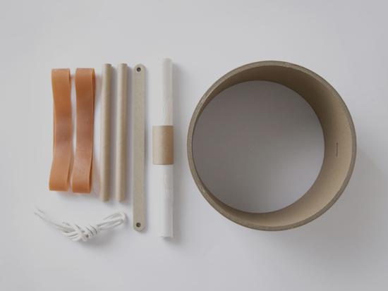 手づくりドラム / 紙管 / 無印良品