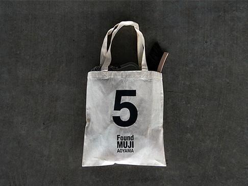 グラフィックデザイン / Found MUJI マイバッグ