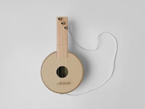手づくりギター / 紙管 / 無印良品