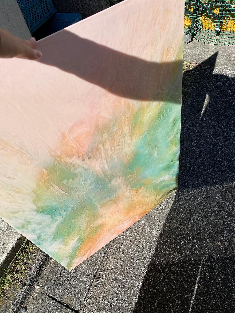 廃液を使用したSDGsシリーズのアクリル板
