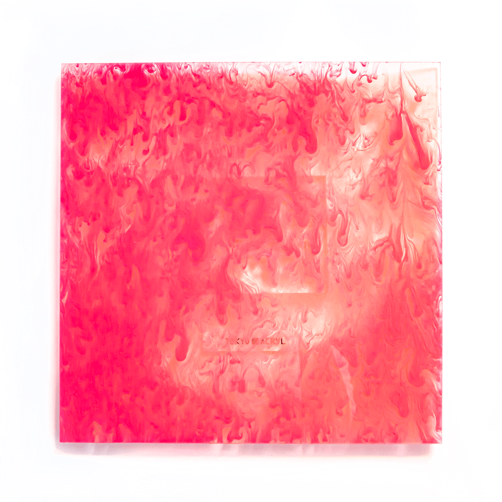 Clear marble【Pink】/Tokyo Acryl