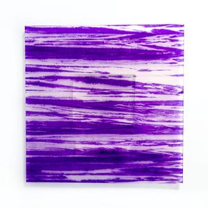 柳絞り染め和紙【Purple】/Tokyo Acryl