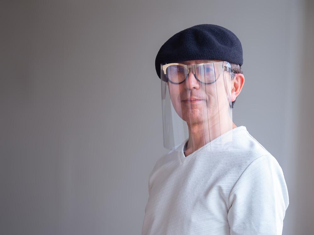 帽子もかぶれます/ Miyuki Acryl