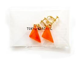 東京アクリルイヤリング・ピアスワークショップラッピング_Tokyo Acryl