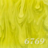 Tokyo Acryl_Basic_Marble_M Yellow(黄色マーブル)