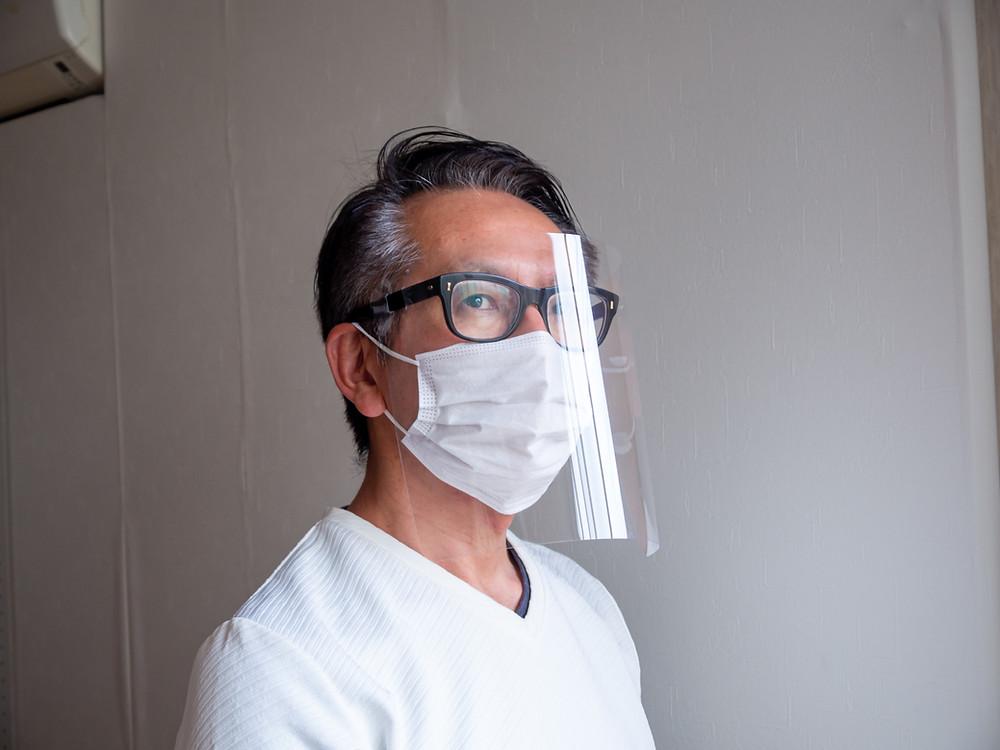 パーツが少ないのでスッキリとした装着感 / Miyuki Acryl
