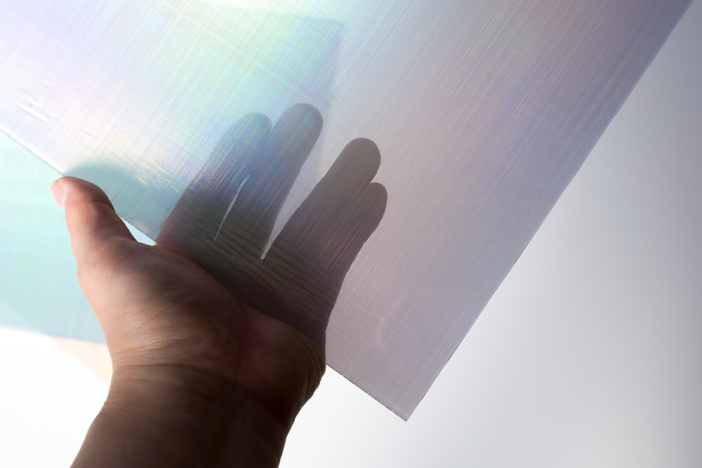 オーロラアクリルは半透明のアクリル板です