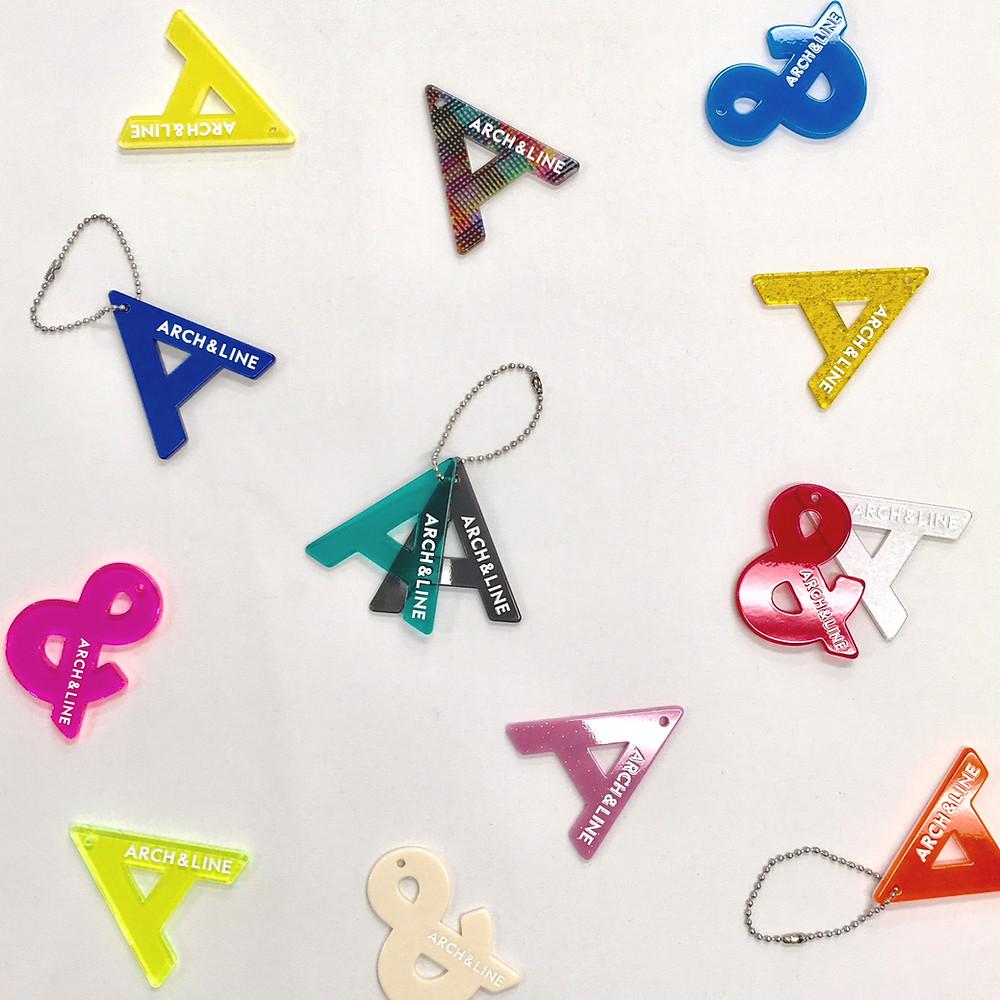 『事例紹介』ARCH&LINE Tokyo Acryl を使ったアクリルキーホルダー