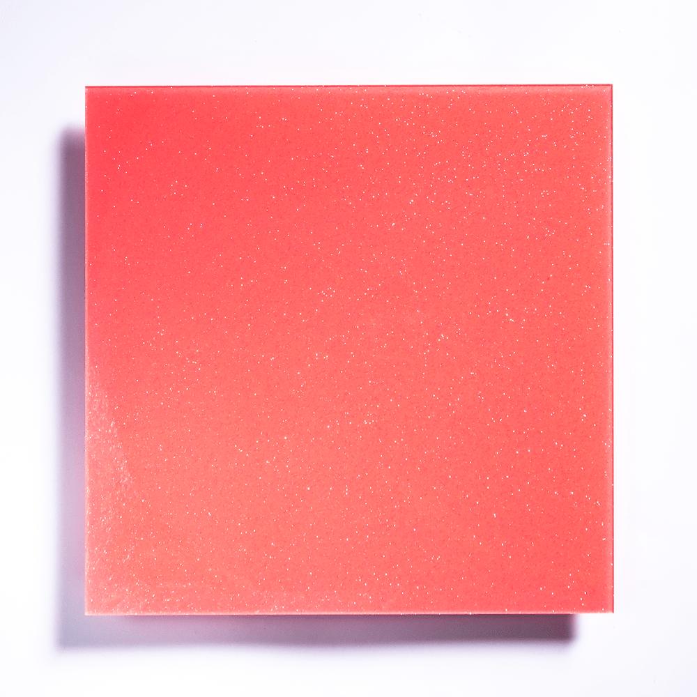 Glitter Coral Pink BG/Tokyo Acryl