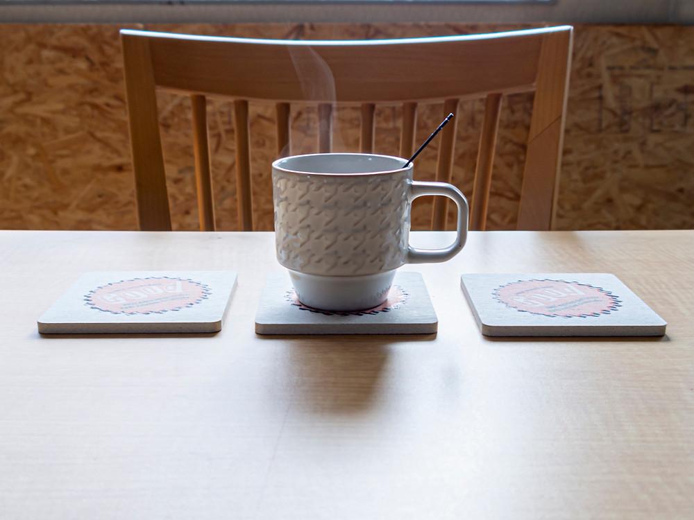 喫茶店などで使用してもおしゃれ/Miyuki Acryl