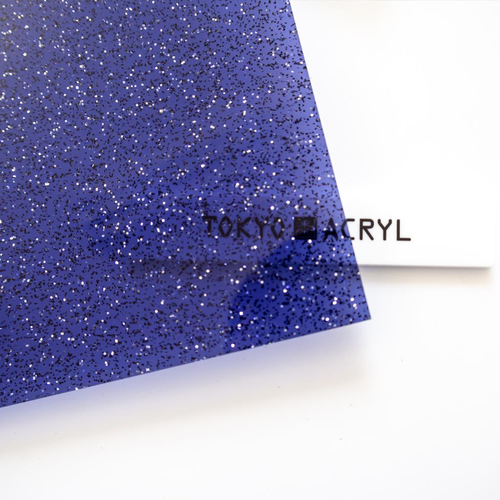 Tokyo Acryl_Glitter Navy