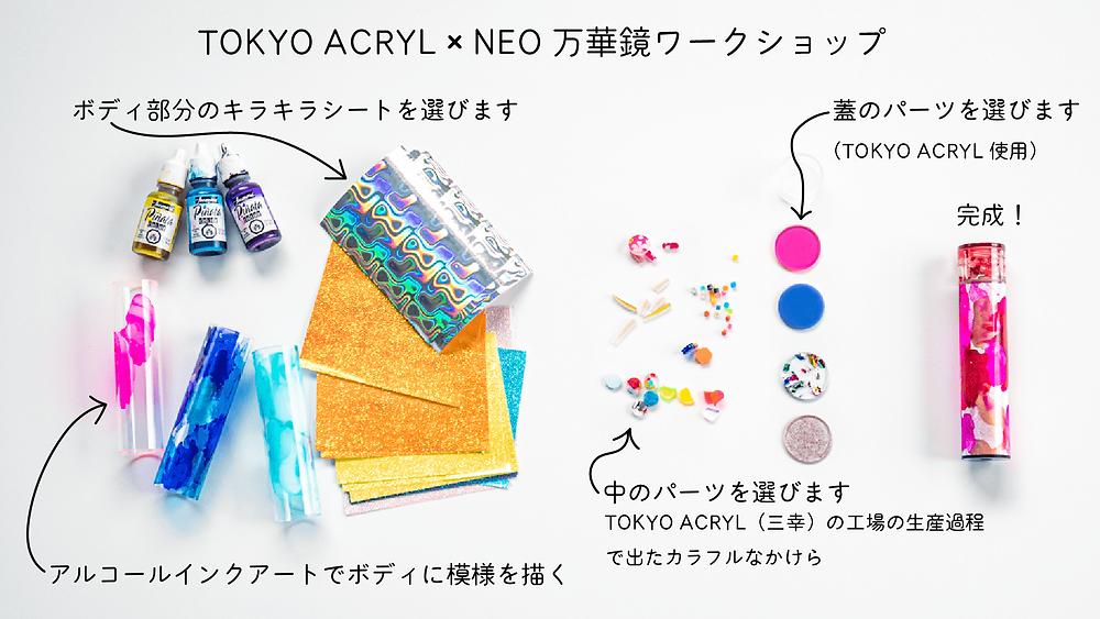 TOKYO ACRYL × NEO万華鏡ワークショップ