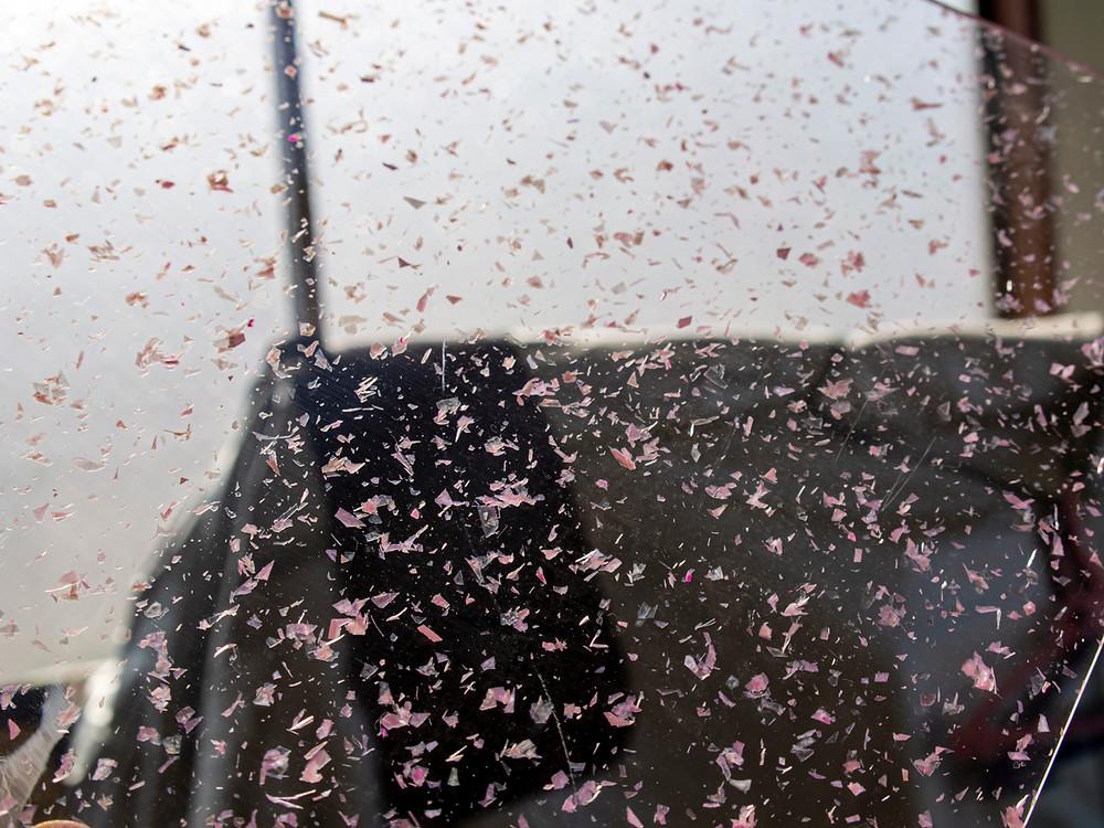 板の地の色は無色透明/ Tokyo Acryl