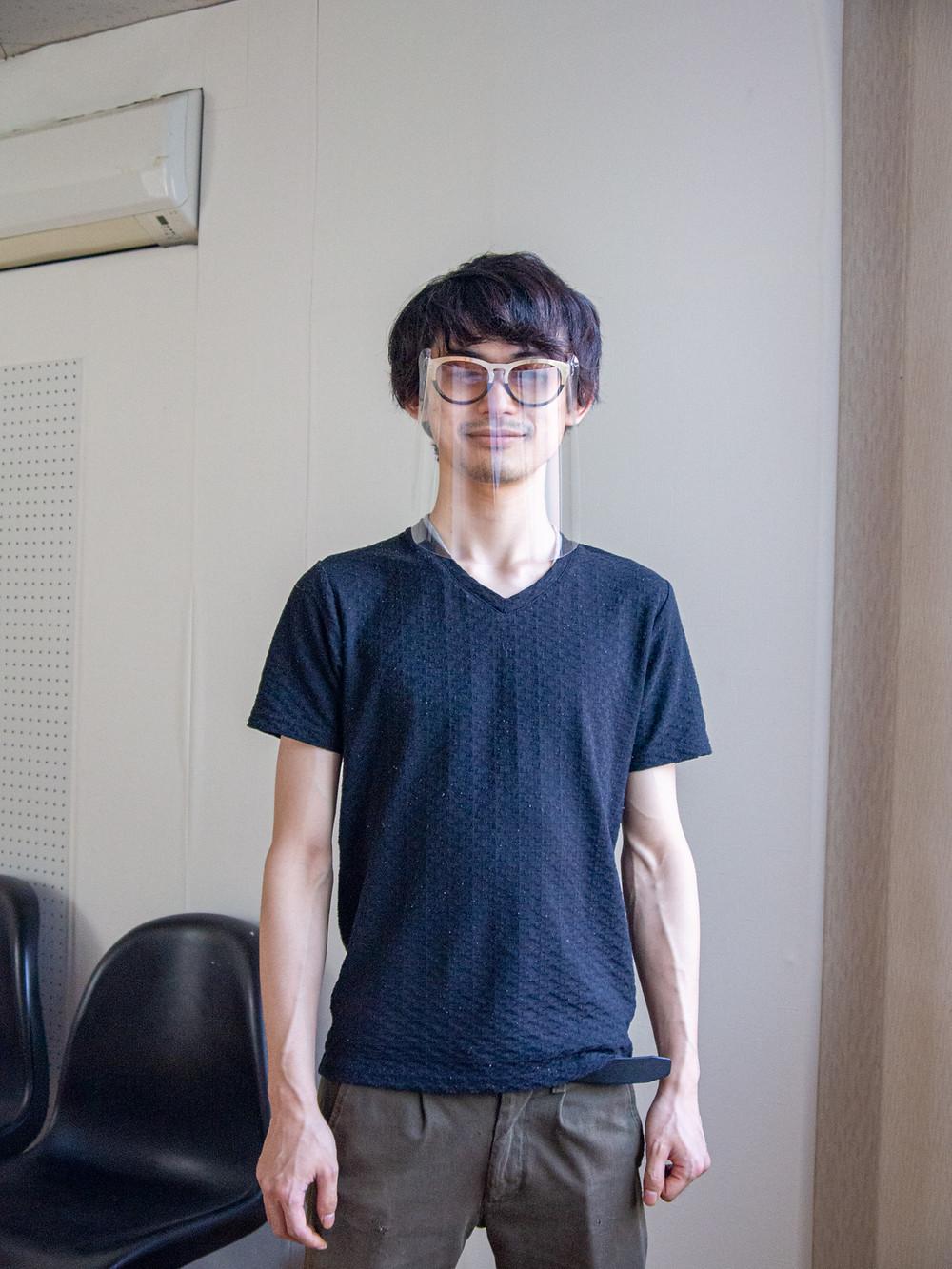 日常のフェイスシールド / Miyuki Acryl