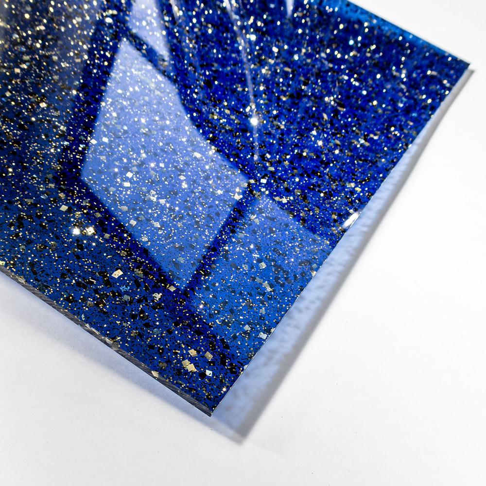 藍色 × 金 / Tokyo Acryl