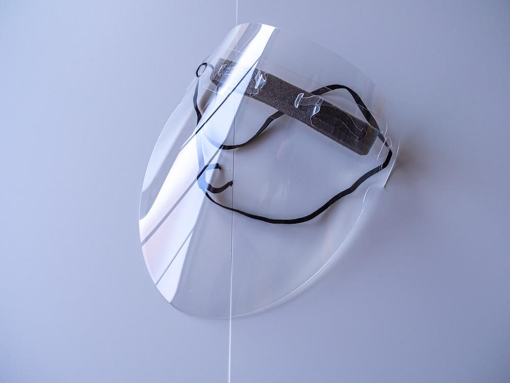 シンプルで美しい構造 Face shieldV3 / Miyuki Acryl