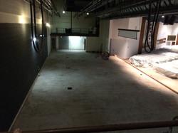 Concrete base from loft