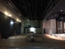 New stage underlayment