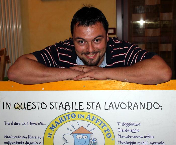 Gianluca Piva Il Marito in Affitto di Vicenza arriva su internet con il suo sito dedicato!!!