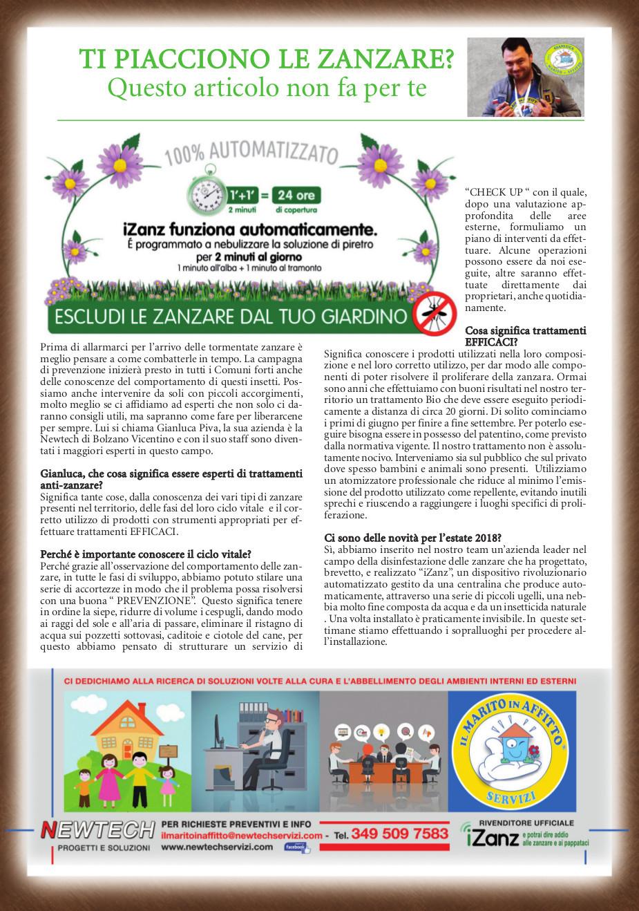 trattamento anti-zanzata continuativi