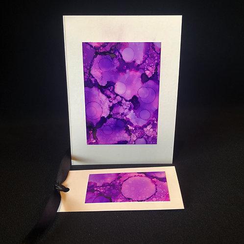 Single Card - Purple