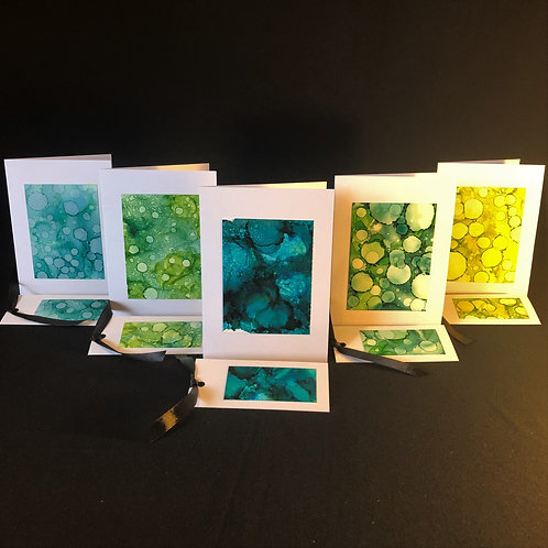 5 Card Pack - Green