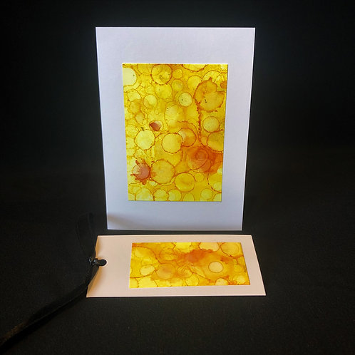 Single Card - Yellow