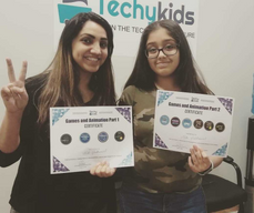 Celebrating Achievements with our TechyKids Students!