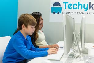 TechyKids Brampton students coding