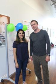 Our Terrific Teachers in Brampton, Tyler and Sabina!