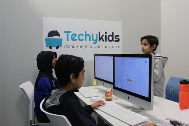 TechyKids Brampton Teamwork