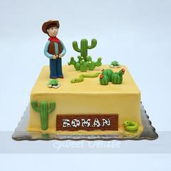 Little Buckaroo Cake