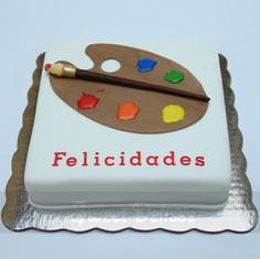 Artist Studio Cake