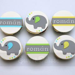 Elephant Story Cupcakes