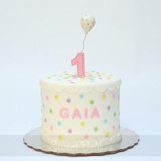 Sugar Confetti Cake
